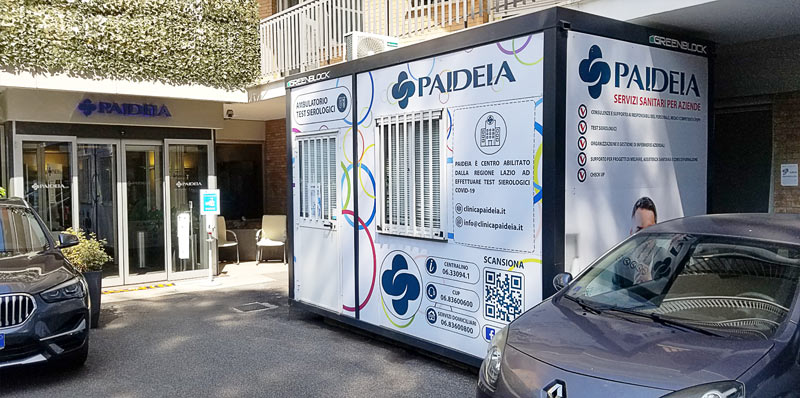 Paideia Container Covid